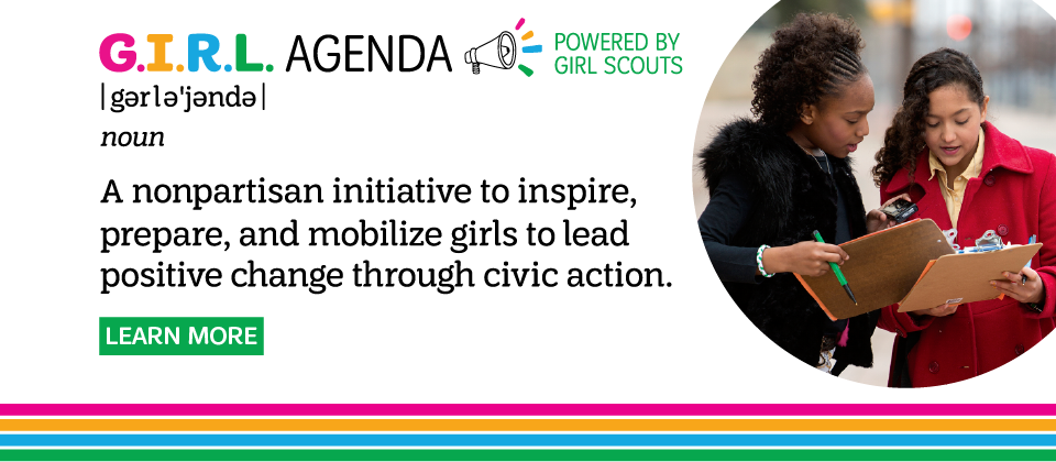 Learn about Girl Scouts' new G.I.R.L. agenda